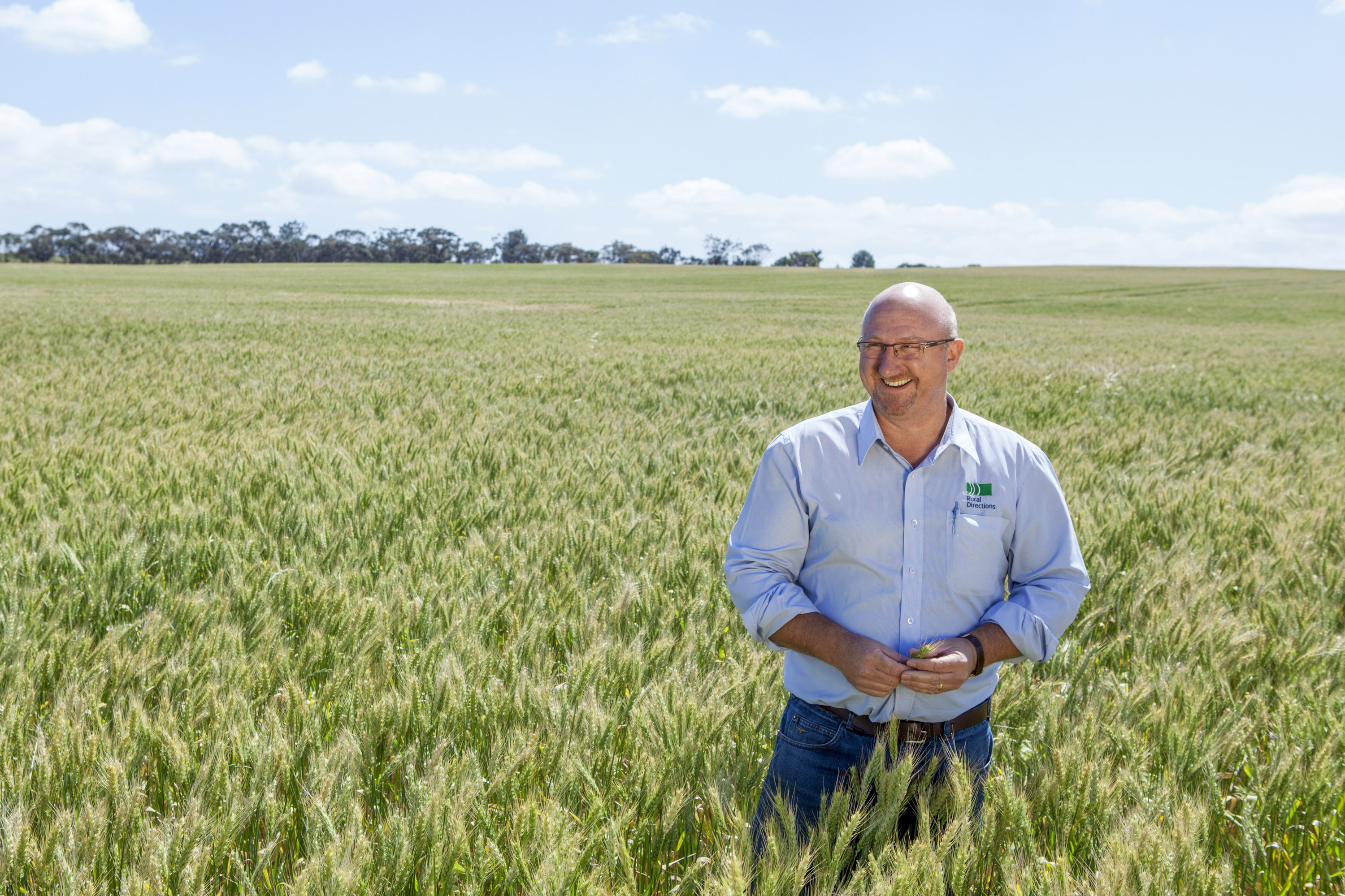 David Heinjus is well into a seven year campaign against herbicide resistant weeds using the Bale Direct technology.